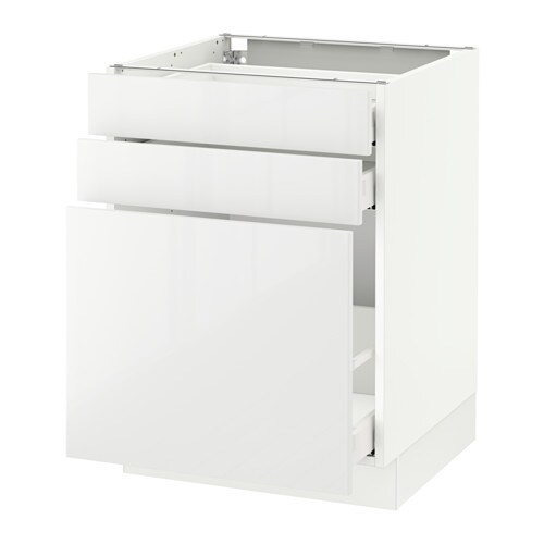 sektion armoire inf rgt coulissant 2tiroirs blanc ringhult ultrabrillant blanc 24x24x30 ikea. Black Bedroom Furniture Sets. Home Design Ideas