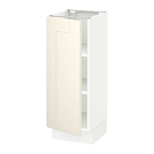 sektion armoire inf tabl blanc grimsl v blanc cass 12x15x30 ikea. Black Bedroom Furniture Sets. Home Design Ideas