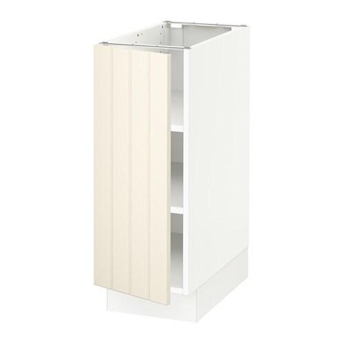 sektion armoire inf tabl blanc hittarp blanc cass. Black Bedroom Furniture Sets. Home Design Ideas