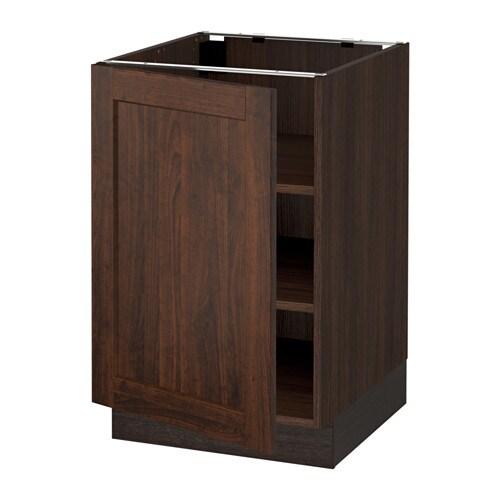 sektion armoire inf tabl effet bois brun edserum effet bois brun 21x24x30 ikea. Black Bedroom Furniture Sets. Home Design Ideas