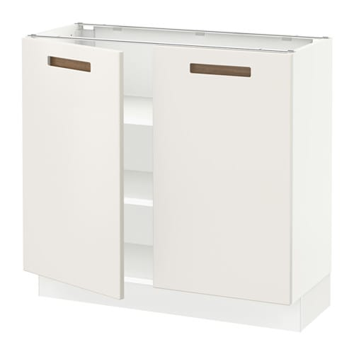 sektion armoire inf tabl 2ptes blanc m rsta blanc. Black Bedroom Furniture Sets. Home Design Ideas