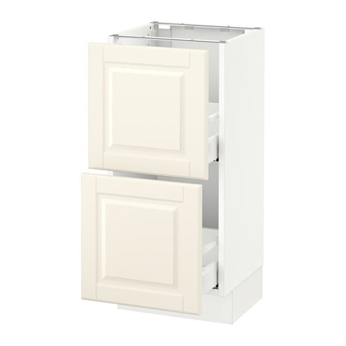 sektion armoire inf 2 tir blanc bodbyn blanc cass 15x15x30 ikea. Black Bedroom Furniture Sets. Home Design Ideas