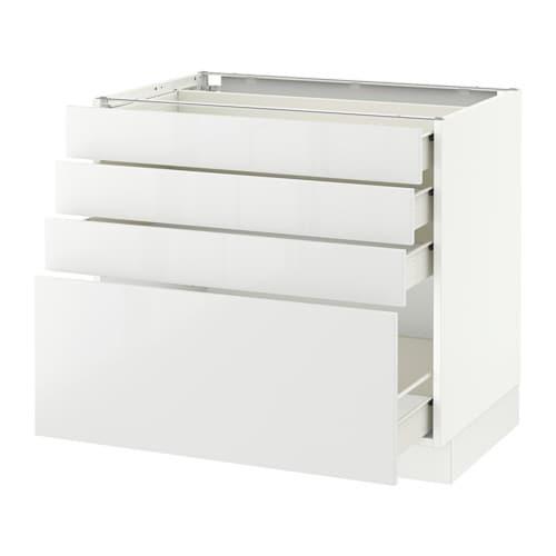 Avis Cuisine Ikea Plaisir :  tir  blanc, Fö, Ringhult ultrabrillant blanc, 36x24x30   IKEA