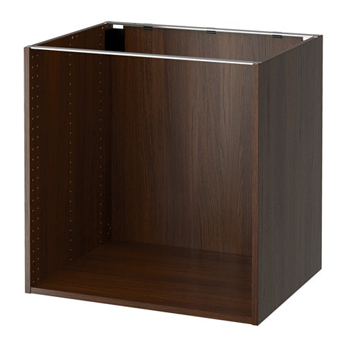 sektion armoire inf rieure effet bois brun 30x24x30 ikea. Black Bedroom Furniture Sets. Home Design Ideas