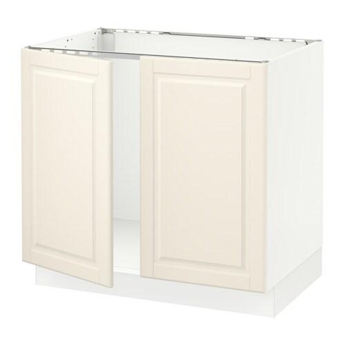 sektion armoire inf rieure pr vier 2portes blanc bodbyn blanc cass 36x24x30 ikea. Black Bedroom Furniture Sets. Home Design Ideas