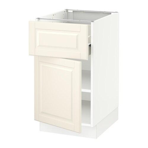 sektion armoire inf rieure tiroir porte blanc f bodbyn blanc cass 18x24x30 ikea. Black Bedroom Furniture Sets. Home Design Ideas