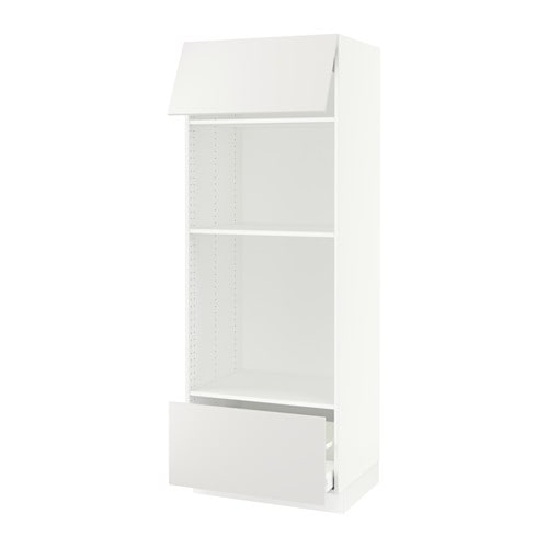 sektion armoire micro four tiroir porte ma h ggeby blanc ikea. Black Bedroom Furniture Sets. Home Design Ideas