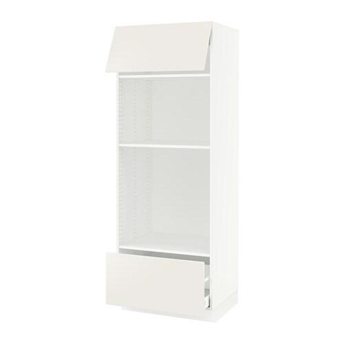 sektion armoire micro four tiroir porte ma veddinge blanc ikea. Black Bedroom Furniture Sets. Home Design Ideas