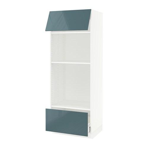 sektion armoire micro four tiroir porte f kallarp ultrabrillant gris turquoise ikea. Black Bedroom Furniture Sets. Home Design Ideas