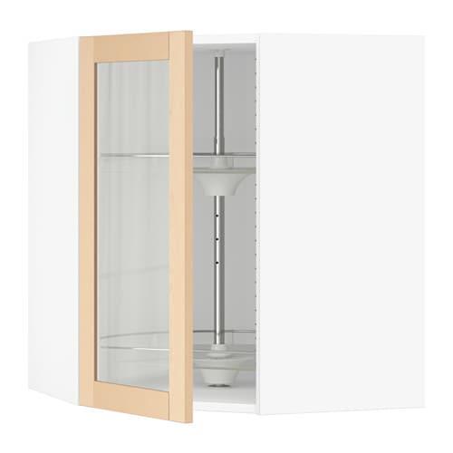 sektion armoire mur angle rgt piv blanc bj rket. Black Bedroom Furniture Sets. Home Design Ideas