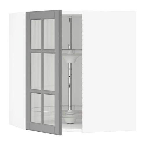 sektion armoire mur angle rgt piv blanc bodbyn gris 26x15x30 ikea. Black Bedroom Furniture Sets. Home Design Ideas