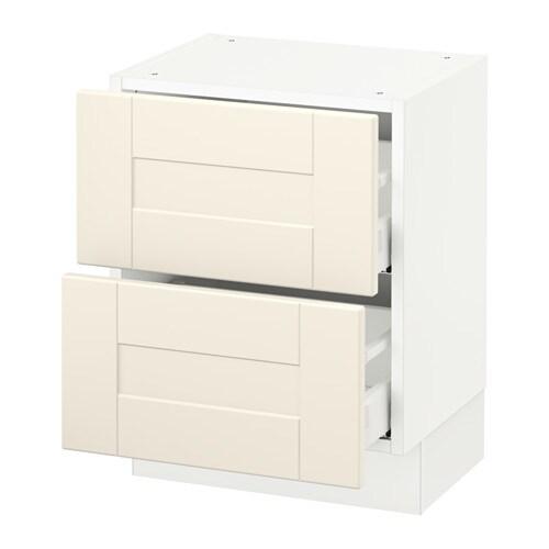 sektion armoire murale 2 tiroirs blanc grimsl v blanc cass 18x15x20 ikea. Black Bedroom Furniture Sets. Home Design Ideas