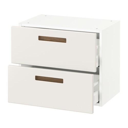 sektion armoire murale 2 tiroirs blanc m rsta blanc 24x15x20 ikea. Black Bedroom Furniture Sets. Home Design Ideas