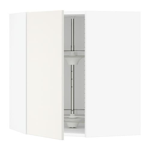 sektion armoire murale angle rgt pivotant blanc veddinge blanc 26x15x30 ikea. Black Bedroom Furniture Sets. Home Design Ideas