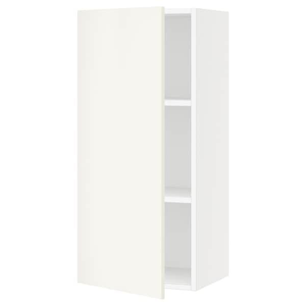 "SEKTION Armoire murale, blanc/Veddinge blanc, 18x15x40 """