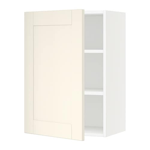 sektion armoire murale blanc grimsl v blanc cass 21x15x30 ikea. Black Bedroom Furniture Sets. Home Design Ideas