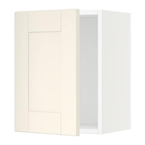 sektion armoire murale blanc grimsl v blanc cass 15x15x20 ikea. Black Bedroom Furniture Sets. Home Design Ideas