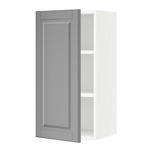 sektion armoire murale blanc bodbyn gris 15x15x30 ikea. Black Bedroom Furniture Sets. Home Design Ideas