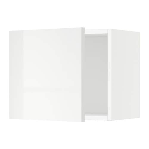 Sektion armoire murale blanc ringhult ultrabrillant for Armoire murale cuisine