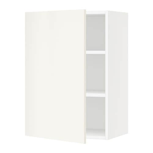 sektion armoire murale blanc veddinge blanc 21x15x30 ikea. Black Bedroom Furniture Sets. Home Design Ideas