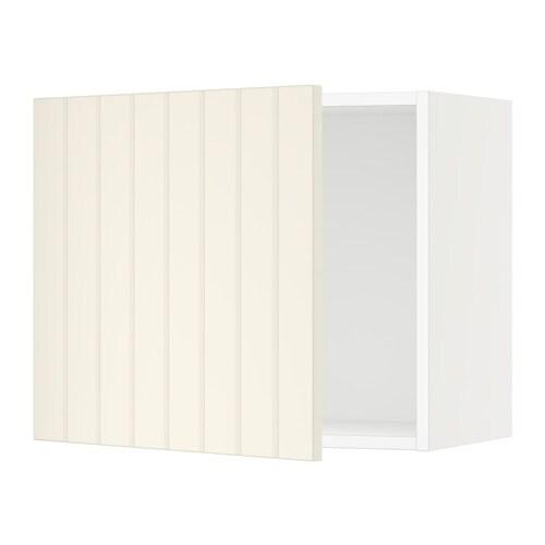 Cuisine Blanc Cassé Ikea : Sektion armoire murale blanc hittarp cassé