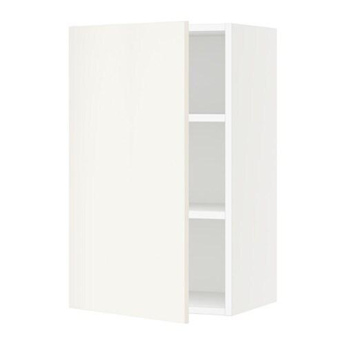 Sektion armoire murale blanc veddinge blanc 18x15x30 for Armoire murale cuisine