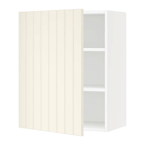 sektion armoire murale blanc hittarp blanc cass. Black Bedroom Furniture Sets. Home Design Ideas