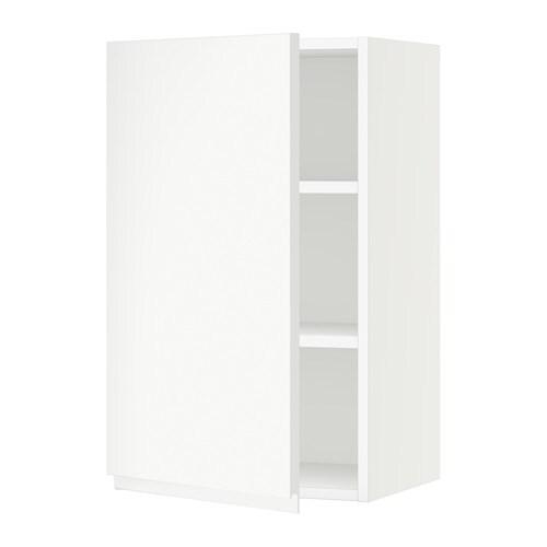 Sektion armoire murale blanc voxtorp blanc 18x15x30 for Armoire murale cuisine