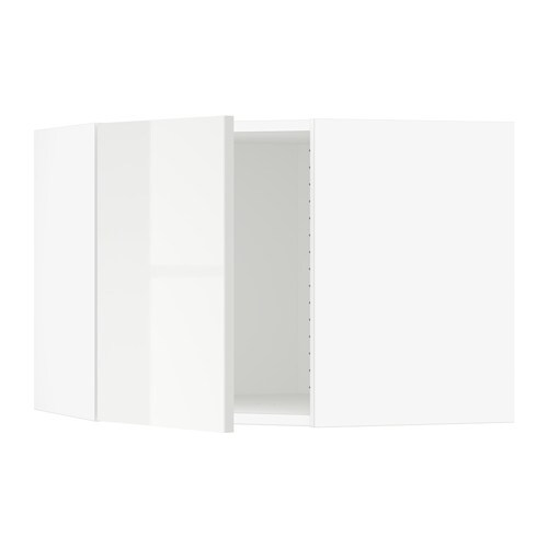 sektion armoire murale d 39 angle blanc ringhult. Black Bedroom Furniture Sets. Home Design Ideas