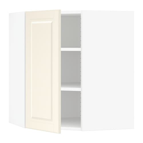 sektion armoire murale d 39 angle tablettes blanc bodbyn blanc cass 26x15x30 ikea. Black Bedroom Furniture Sets. Home Design Ideas
