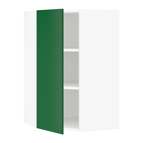 Sektion armoire murale d 39 angle tablettes blanc 26x15x40 - Tablette murale d angle ...
