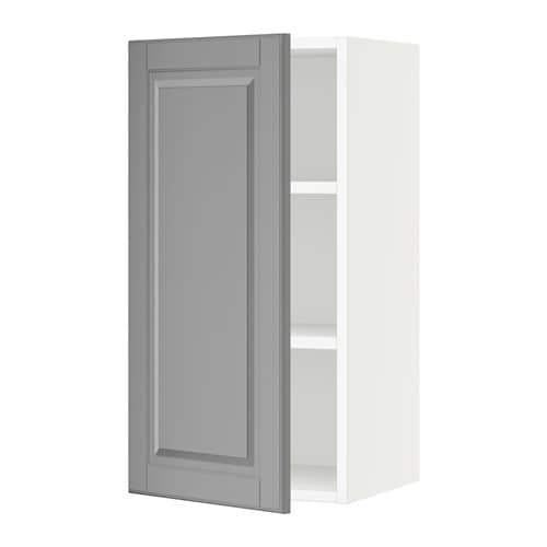 sektion armoire murale blanc bodbyn gris 15x15x30 ikea. Black Bedroom Furniture Sets. Home Design Ideas