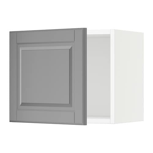 sektion armoire murale blanc bodbyn gris 18x15x15 ikea. Black Bedroom Furniture Sets. Home Design Ideas