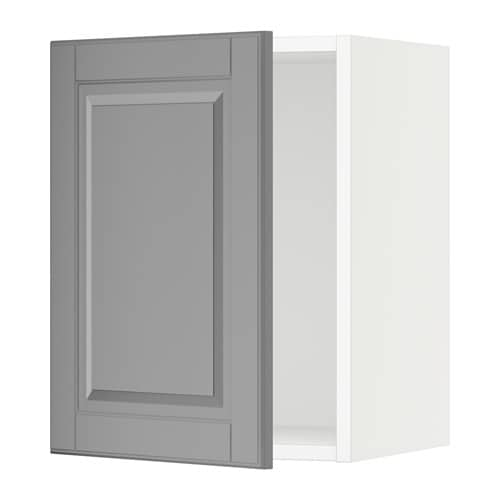 sektion armoire murale blanc bodbyn gris 15x15x20 ikea. Black Bedroom Furniture Sets. Home Design Ideas