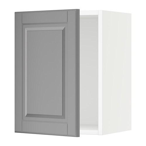 sektion armoire murale blanc bodbyn gris 15x15x20 ikea. Black Bedroom Furniture Sets. Home Design Ideas