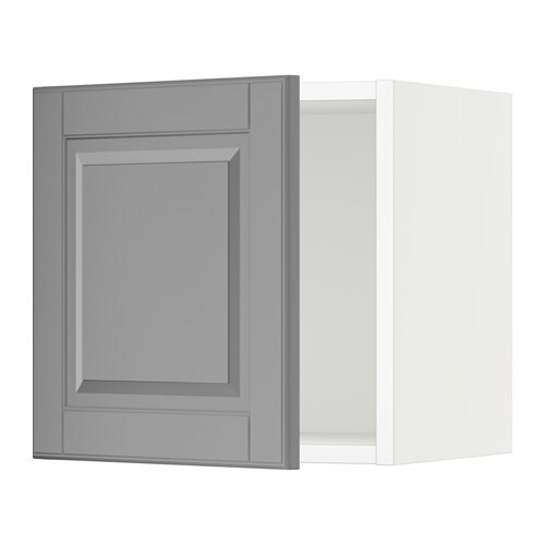 sektion armoire murale blanc bodbyn gris 15x15x15 ikea. Black Bedroom Furniture Sets. Home Design Ideas