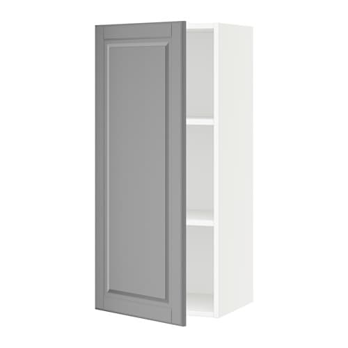 sektion armoire murale blanc bodbyn gris 18x15x40 ikea. Black Bedroom Furniture Sets. Home Design Ideas