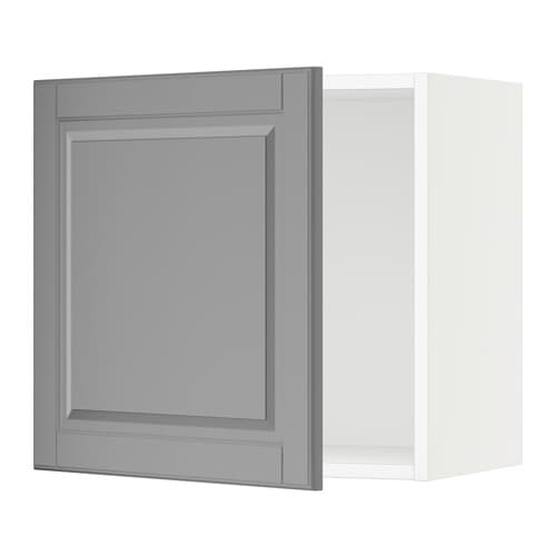 sektion armoire murale blanc bodbyn gris 21x15x20 ikea. Black Bedroom Furniture Sets. Home Design Ideas