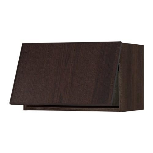 sektion armoire murale horizontale effet bois brun ekestad brun 24x15x15 ikea. Black Bedroom Furniture Sets. Home Design Ideas