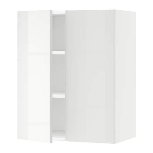 sektion armoire murale 2 portes blanc ringhult ultrabrillant blanc 24x15x30 ikea. Black Bedroom Furniture Sets. Home Design Ideas