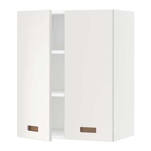 sektion armoire murale 2 portes blanc m rsta blanc. Black Bedroom Furniture Sets. Home Design Ideas