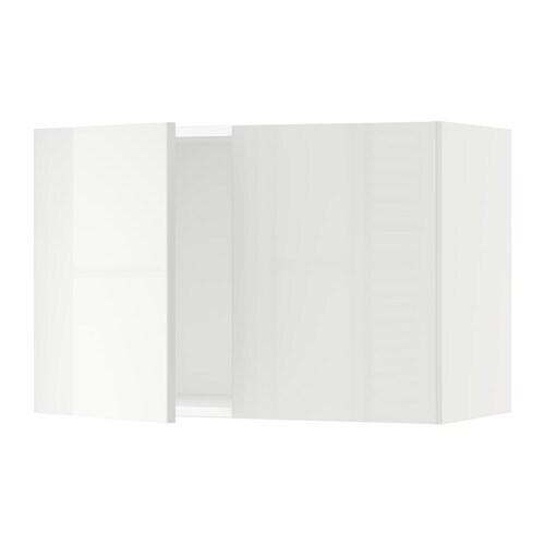 sektion armoire murale 2 portes blanc ringhult ultrabrillant blanc 30x15x20 ikea. Black Bedroom Furniture Sets. Home Design Ideas