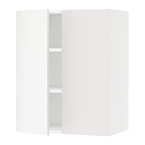 sektion armoire murale 2 portes blanc h ggeby blanc. Black Bedroom Furniture Sets. Home Design Ideas