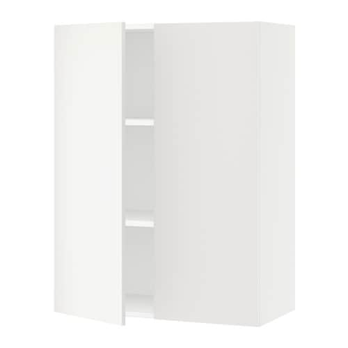 sektion armoire murale 2 portes blanc h ggeby blanc 30x15x40 ikea. Black Bedroom Furniture Sets. Home Design Ideas