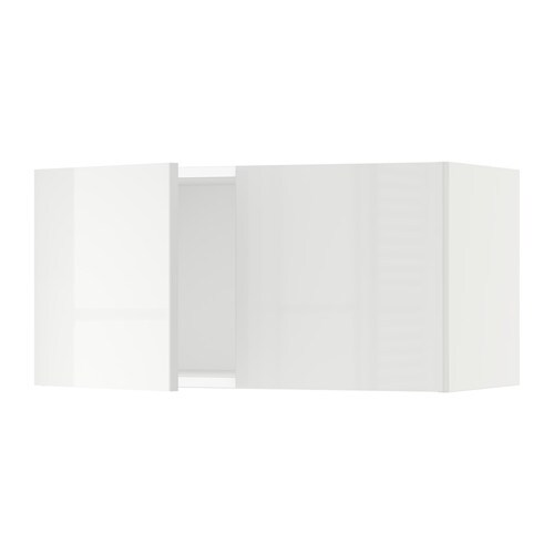 sektion armoire murale 2 portes blanc ringhult ultrabrillant blanc 30x15x15 ikea. Black Bedroom Furniture Sets. Home Design Ideas