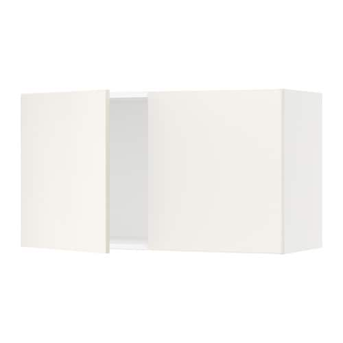 sektion armoire murale 2 portes blanc veddinge blanc 36x15x20 ikea. Black Bedroom Furniture Sets. Home Design Ideas