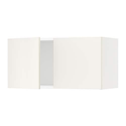 sektion armoire murale 2 portes blanc veddinge blanc 30x15x15 ikea. Black Bedroom Furniture Sets. Home Design Ideas