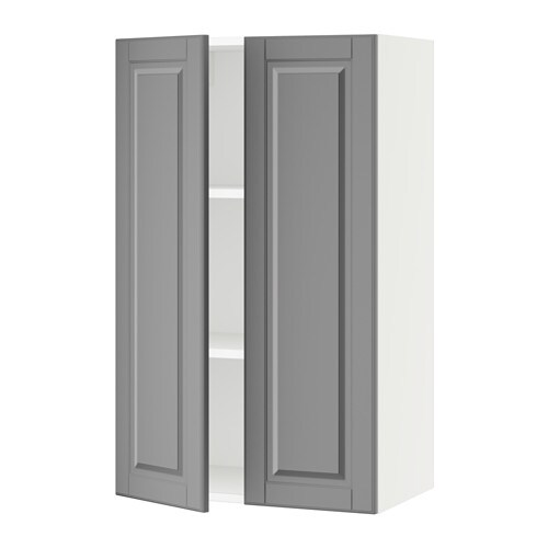 sektion armoire murale 2 portes blanc bodbyn gris 24x15x40 ikea. Black Bedroom Furniture Sets. Home Design Ideas