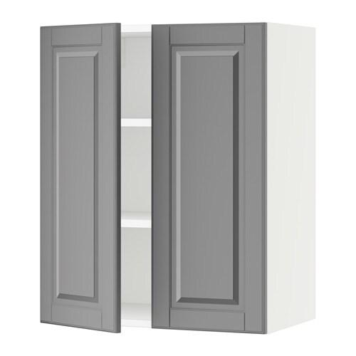 sektion armoire murale 2 portes blanc bodbyn gris 24x15x30 ikea. Black Bedroom Furniture Sets. Home Design Ideas