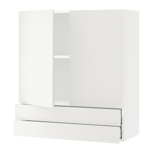 sektion armoire murale 2portes 2tiroirs blanc h ggeby blanc 36x15x40 ikea. Black Bedroom Furniture Sets. Home Design Ideas